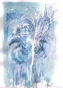 Image of Mister Freeze (morning sketch: 25 March 2013)