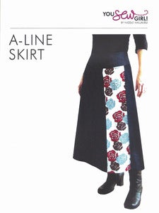 Image of You Sew Girl - A-Line Skirt Pattern
