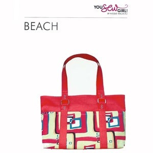 Image of You Sew Girl - Beach Bag Pattern