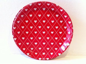Image of VINTAGE RETRO HEART COASTERS