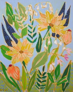 Image of 16x20 Flowers for Sandy 