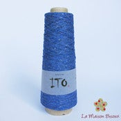 Image of Ito yarns - Kinu - 118 Marine Blue