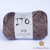Image of Ito yarns - Asa - 058 Brown