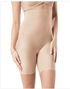 Image of Spanx Slimplicity High-Waisted Shaper 394 Nude Small NEW