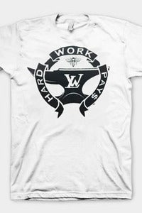 Image of Hard Work Pay$ Tee (White)