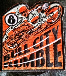 Image of Bull City Rumble 8 Rally Patch