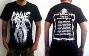 "Image of GRAVE ""Endless Procession of Souls Tour 2013"" Short Sleeve"