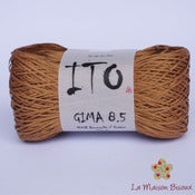 Image of Ito yarns - Gima 8.5 - 029 Caramel