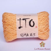 Image of Ito yarns - Gima 8.5 - 007 Orange