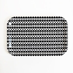 Image of Scallop/Dots Snack Tray