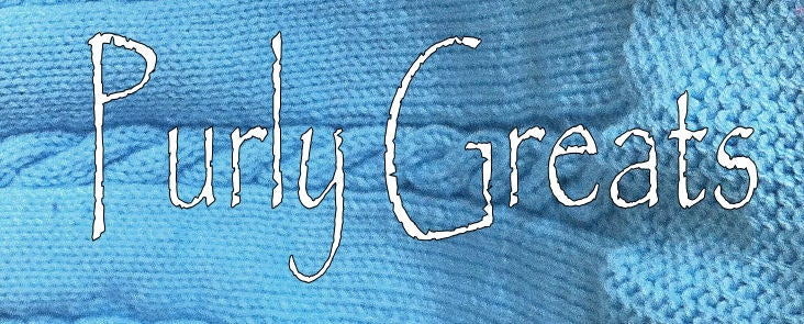 Purly Greats Beautiful knitted scarves