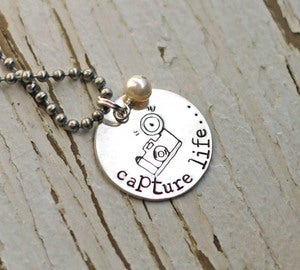 Image of *exclusive* Capture Life necklace