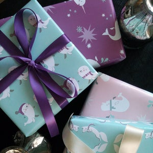 Arctic Amazingness, now in wrapping paper form!