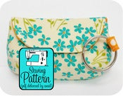 Image of Keychain Clutch PDF Sewing Pattern